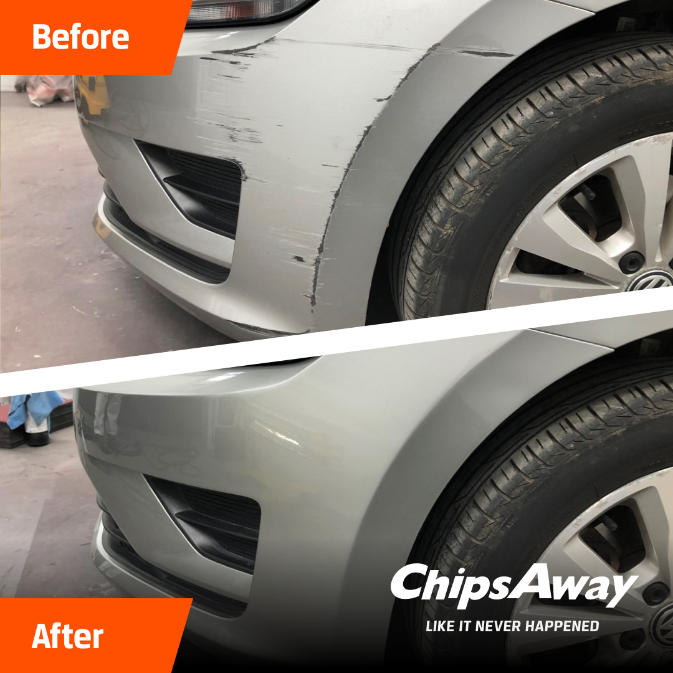 ChipsAway before and after