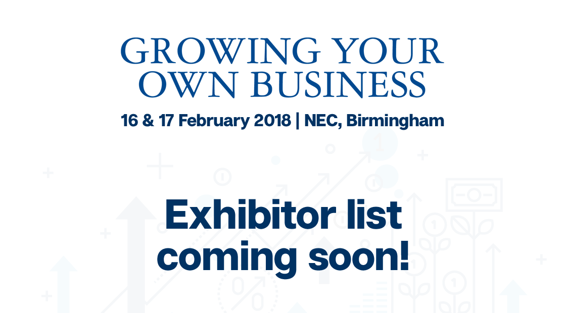 Exhibitor list coming soon!