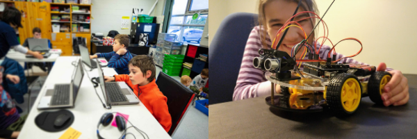 robot classroom combined
