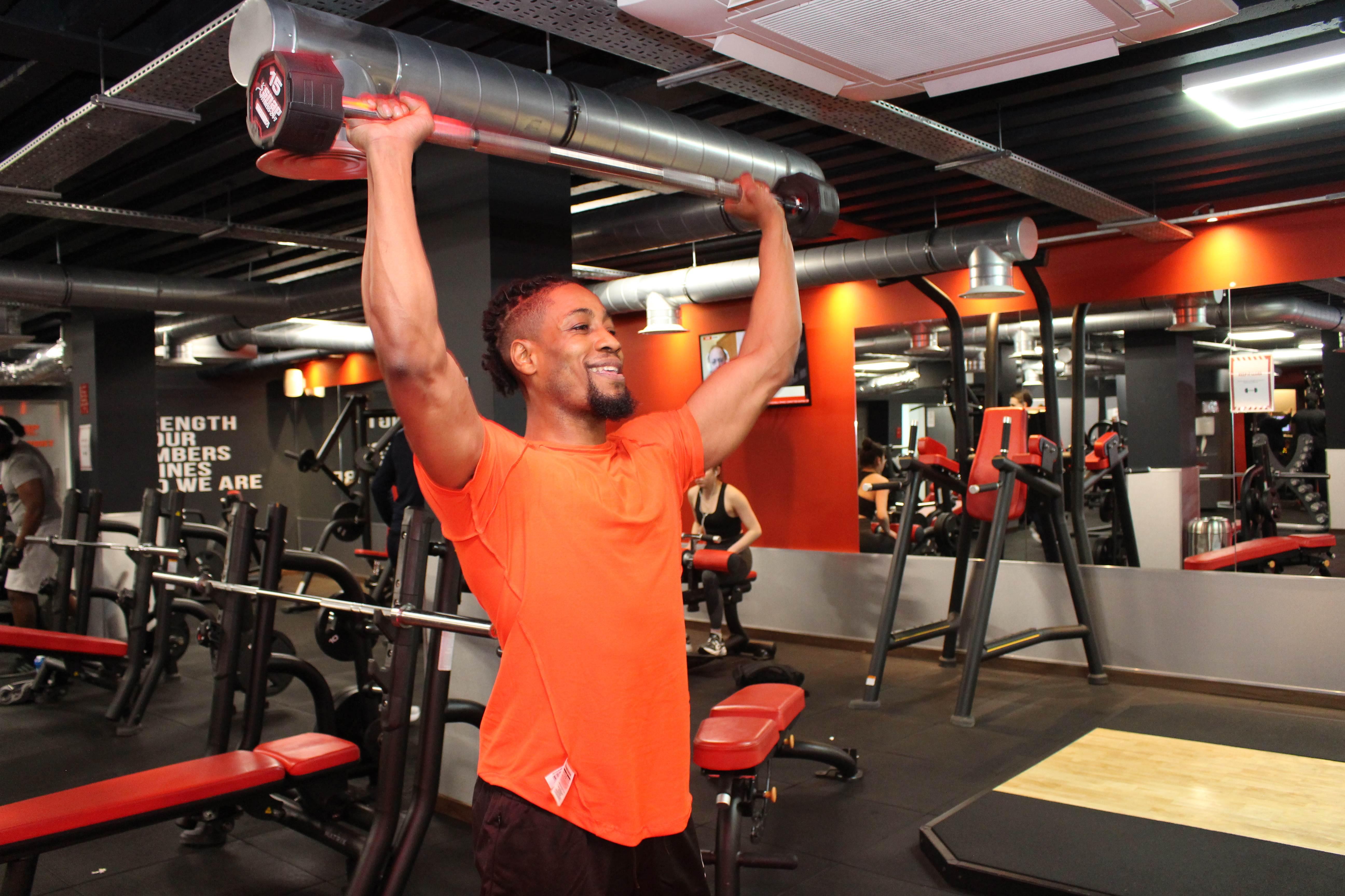 snap fitness orange man