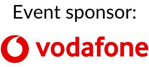 event sponsor: vodafone