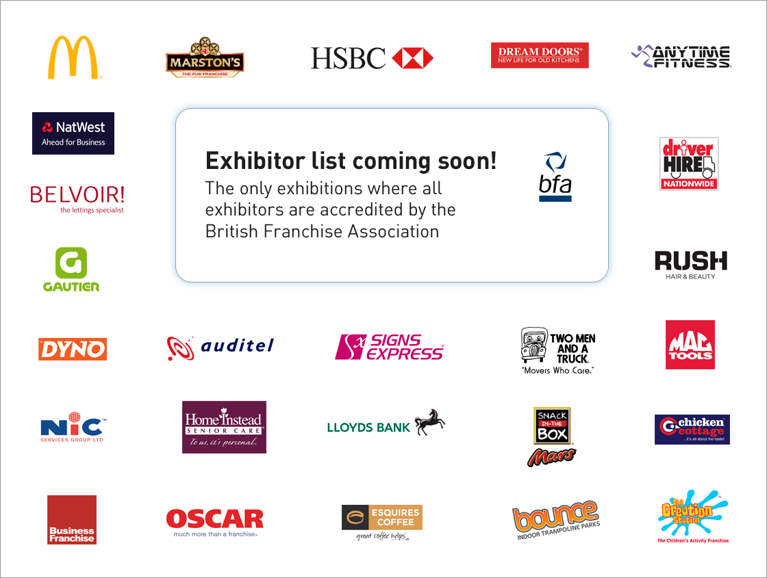 exhibitor list London